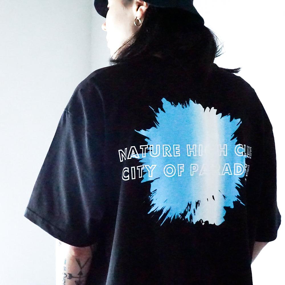 네이쳐 하이 클럽 티셔츠 (블랙)