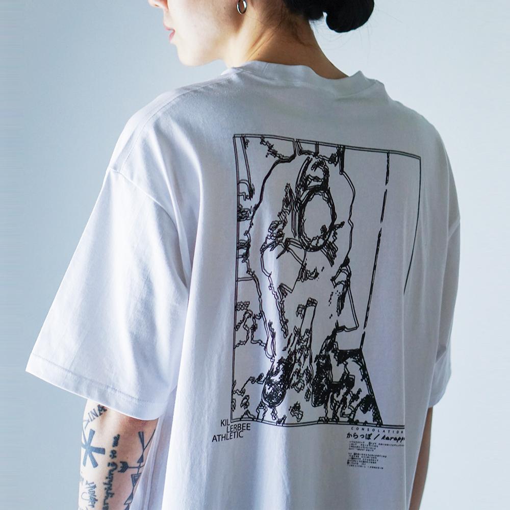 카라포 오버사이즈 티셔츠 (화이트)