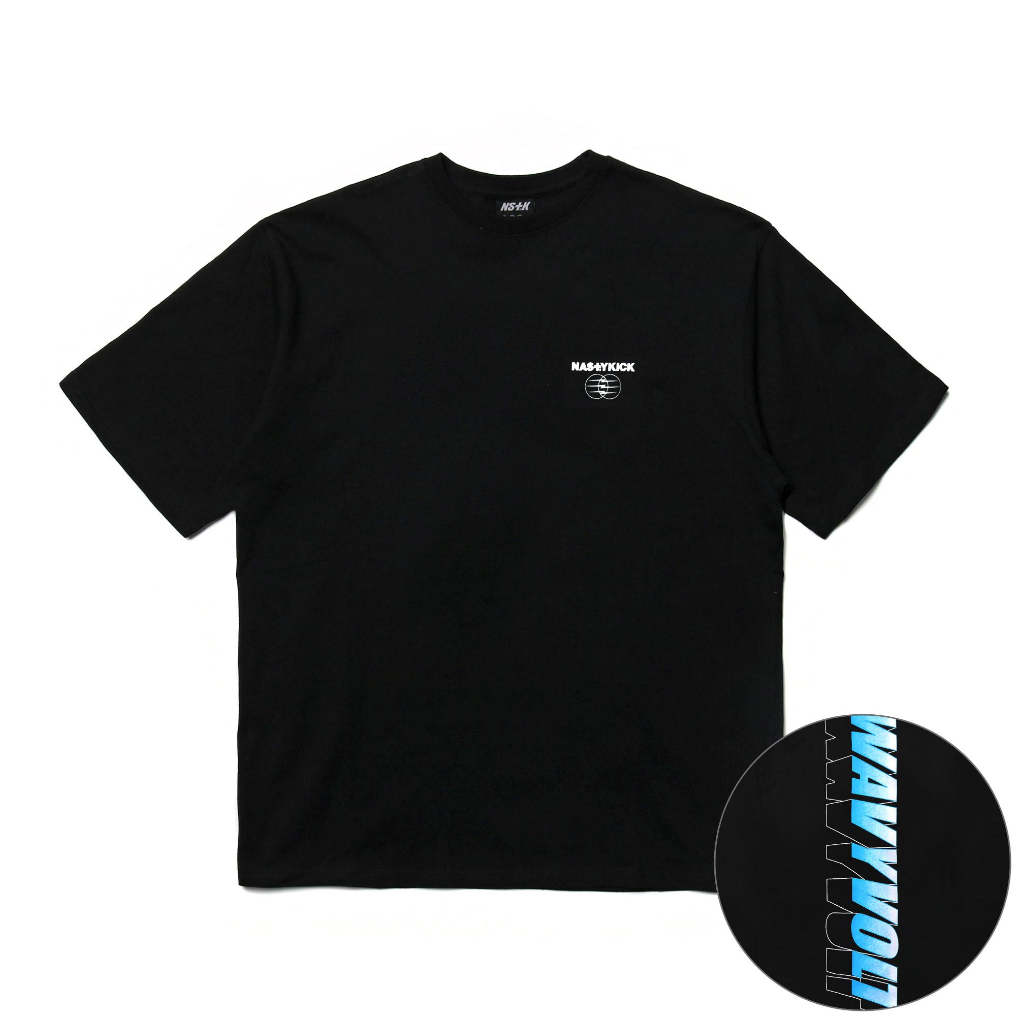 [NK] NSTK VOLT BOLDED TEE (BLK) (NK19S062H)