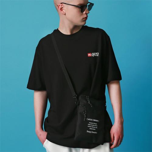 EXT SHOULDER POUCH (BLACK)