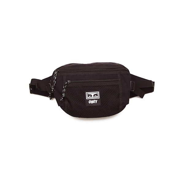 오베이 가방 CONDITIONS WAIST BAG 100010108 BLACK