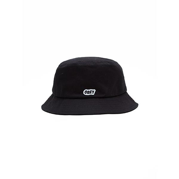 오베이 모자 SLEEPER BUCKET HAT 100520017 BLACK
