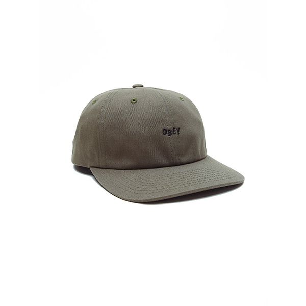 오베이 모자 CUTTY 6 PANEL 100580074 ARMY