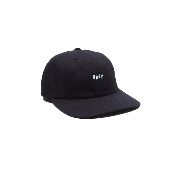 오베이 모자 CUTTY 6 PANEL 100580074 BLACK