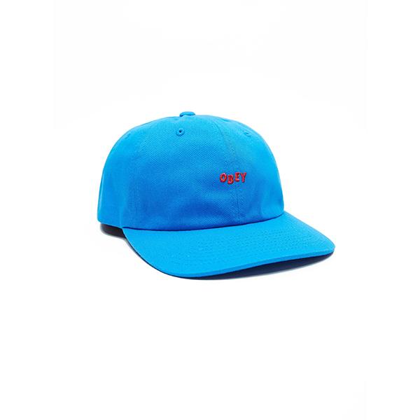 오베이 모자 CUTTY 6 PANEL 100580074 BRIGHT BLUE