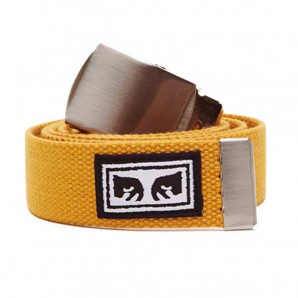 오베이 벨트 BIG BOY WEB BELT 100050026 ENERGY YELLOW