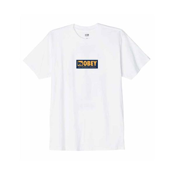 오베이 티셔츠 OBEY INTERNATIONAL ICON 2 163081960 WHITE