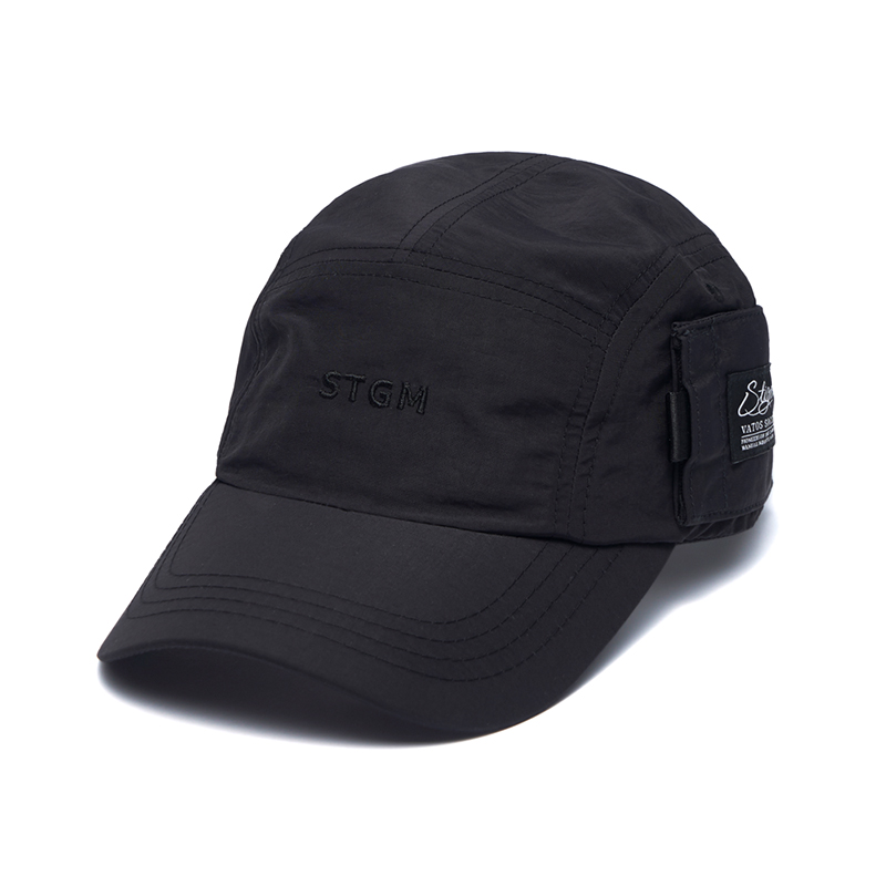 STIGMA STGM POCKET CAMP CAP BLACK
