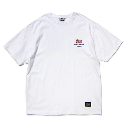 19 FLAG T-SHIRT (WHITE)