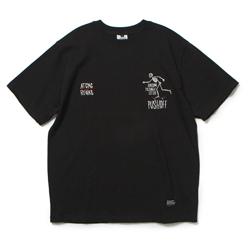 19 PUSH OFF T-SHIRT (BLACK)