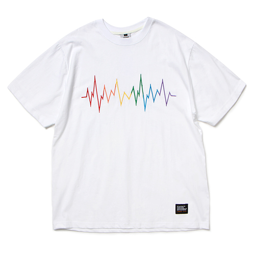 19 RB WAVE T-SHIRT (WHITE)