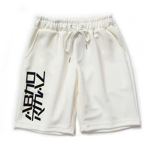 MESH TRAINING SHORT PANTS (WHITE)