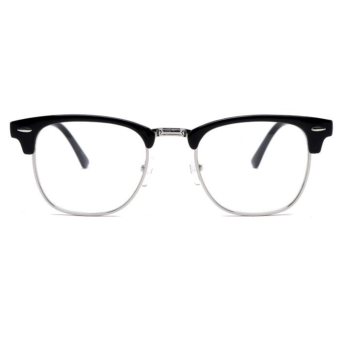 RECLOW A7 BLACK SILVER 안경