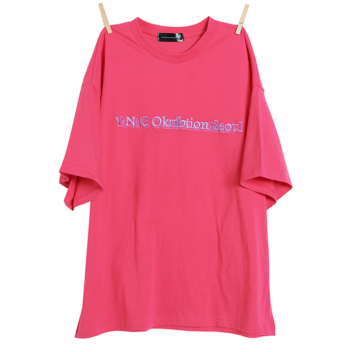 Okribtion Half T - Pink