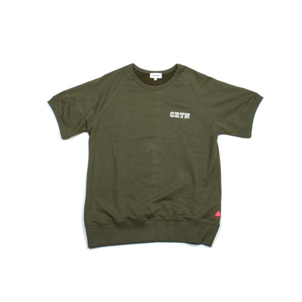 [단독할인]숏 슬리브드 티셔츠_카키
