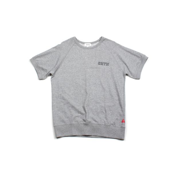 [단독할인]숏 슬리브드 티셔츠_그레이