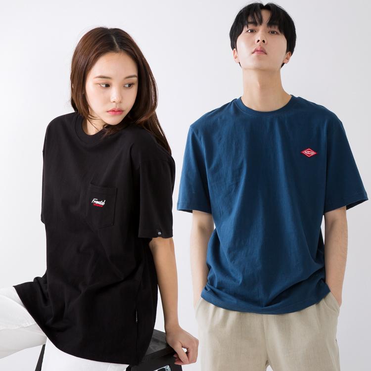 [단독할인] 프롬에이투비 19SS 베이직 로고 티셔츠 균일가