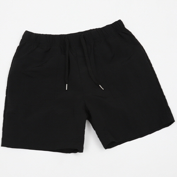 BEACH SHORT PANTS-블랙