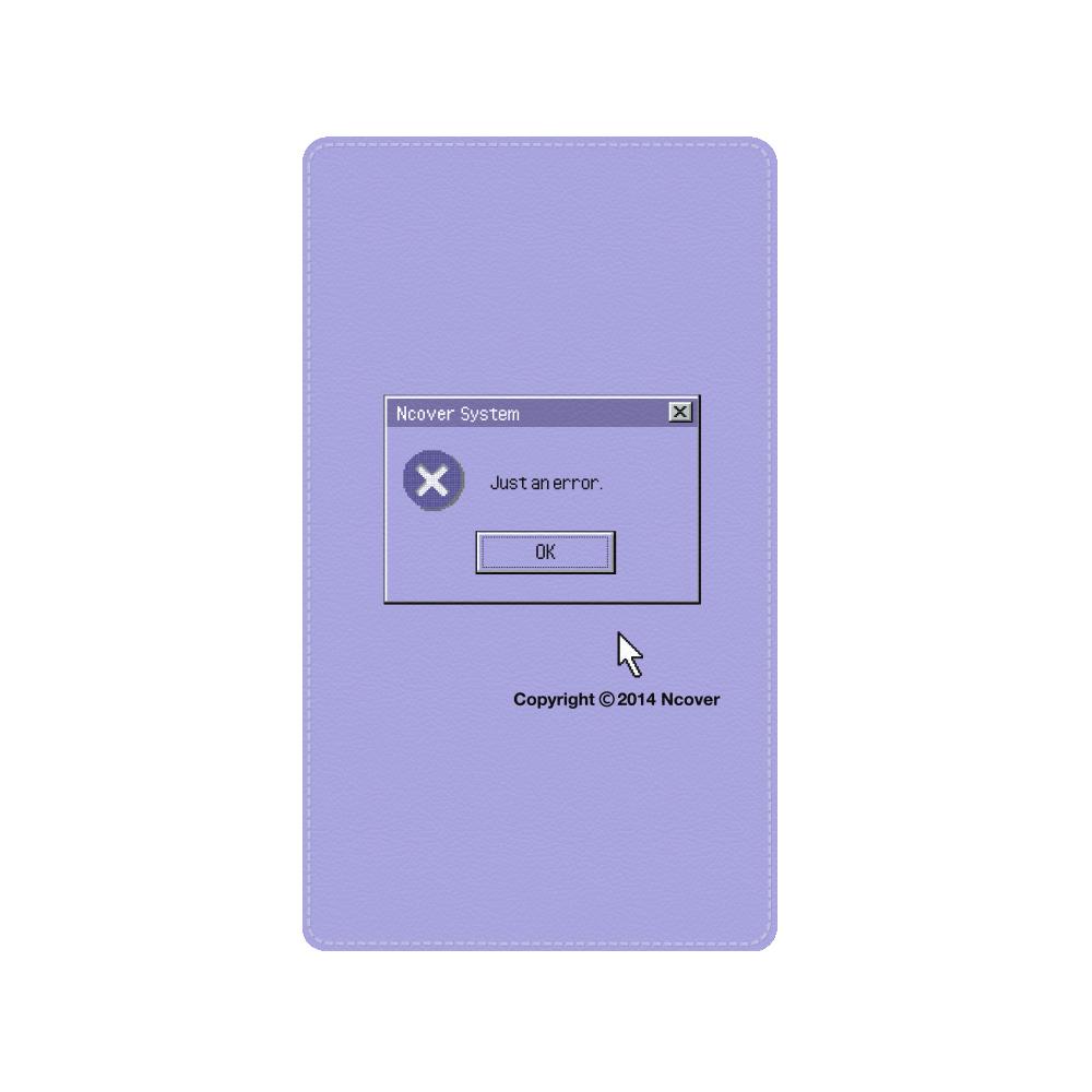 System error battery-purple