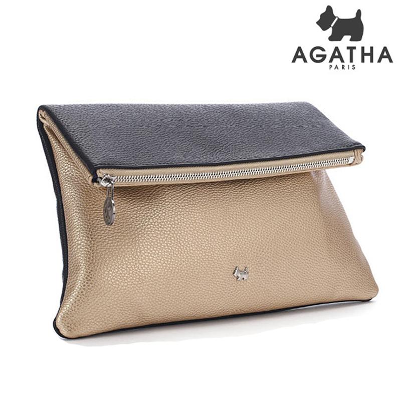 아가타 시드니 클러치백 AGT151B10-1 GOLD