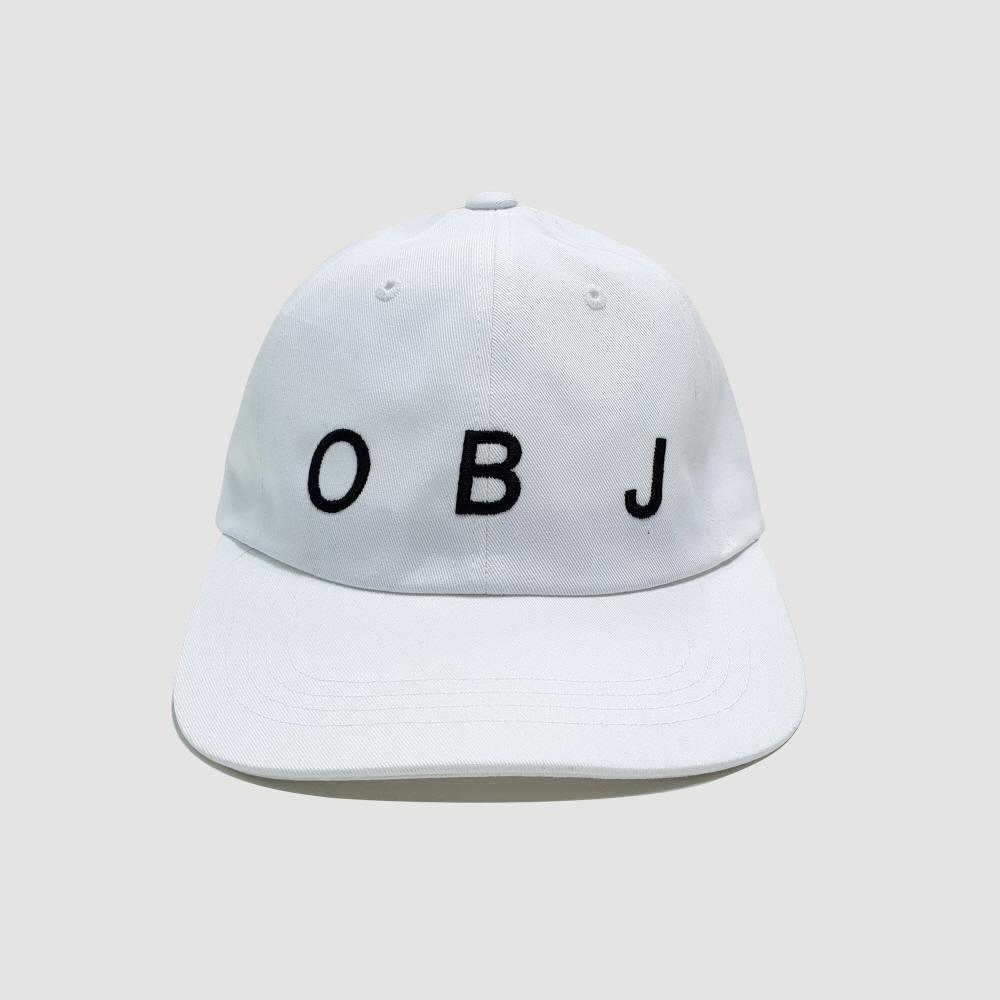OBJ LOGO CAP (WHITE)