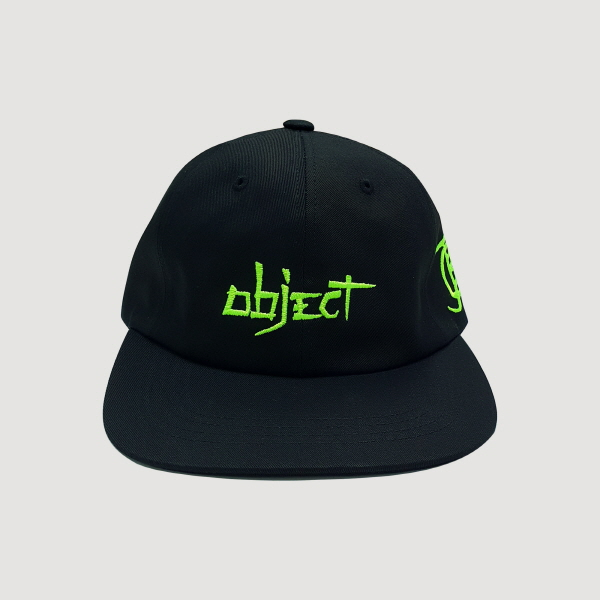 [단독할인]OBJECT 2019 LOGO CAP (BLACK)