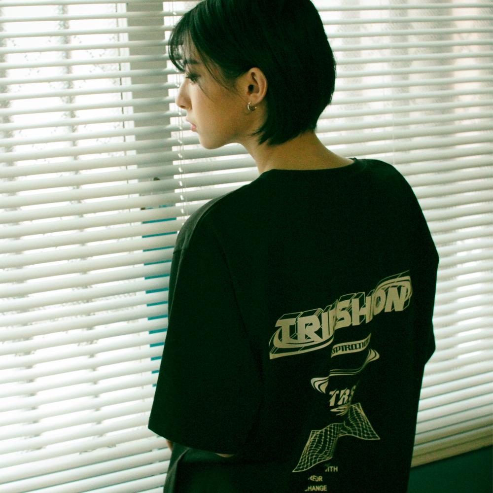 [단독할인]파라메트릭 로고 티셔츠 - 5 컬러