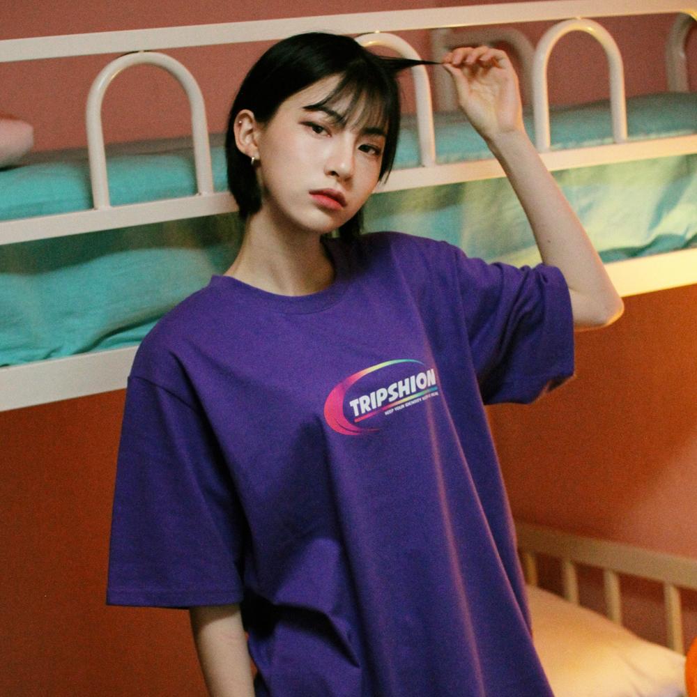 [단독할인]프리즘 아치 로고 티셔츠 - 5 컬러