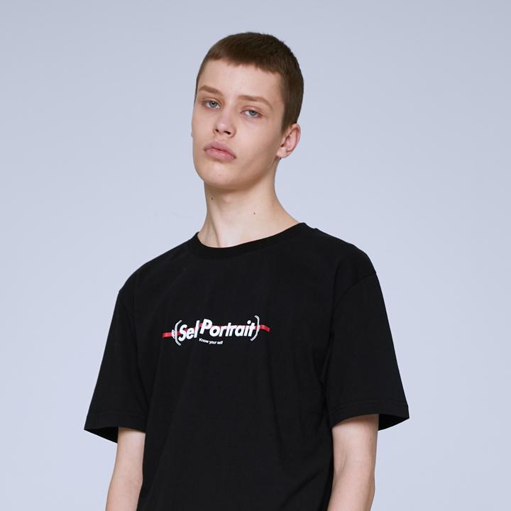 FACE SYMBOL T-SHIRTS (BLACK)