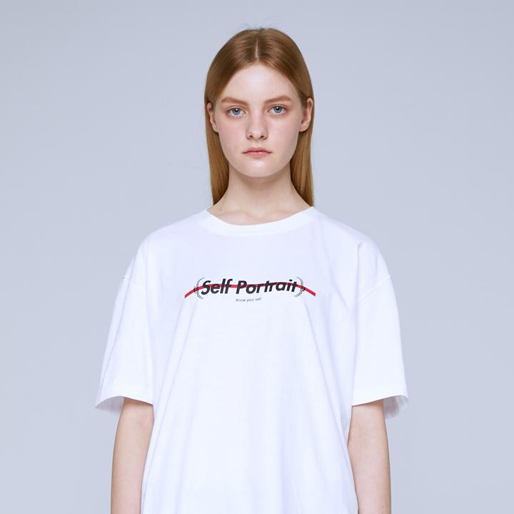 FACE SYMBOL T-SHIRTS (WHITE)