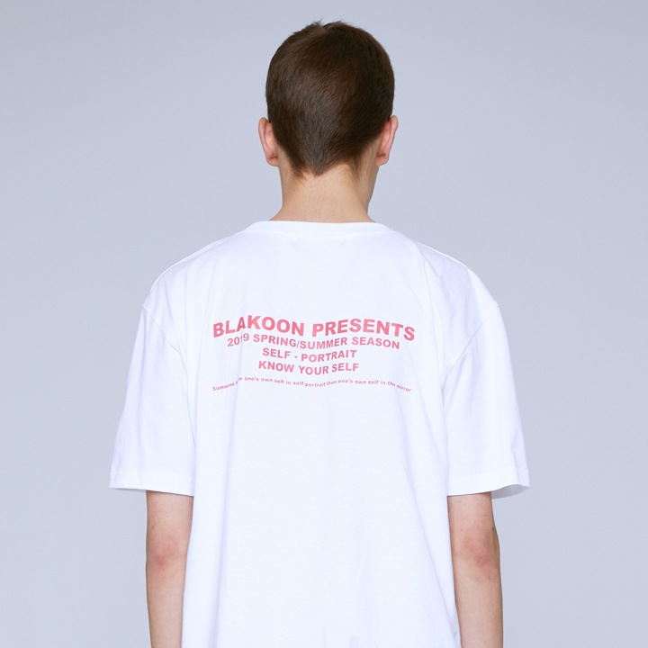 LETTERING T-SHIRTS (WHITE)
