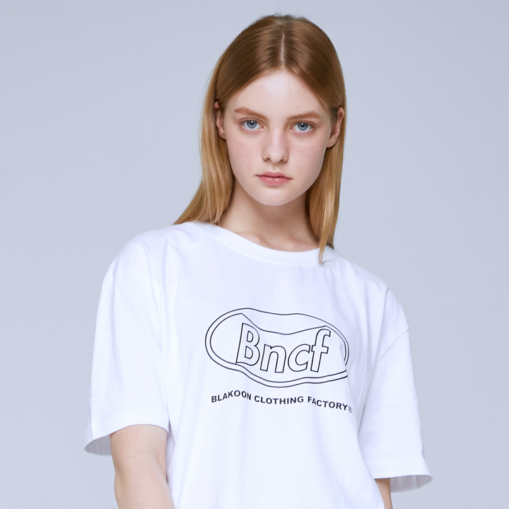 BNCF CIRCLE LOGO T-SHIRTS (WHITE)