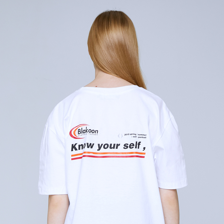 KNOW YOUR SELF T-SHIRTS (WHITE)