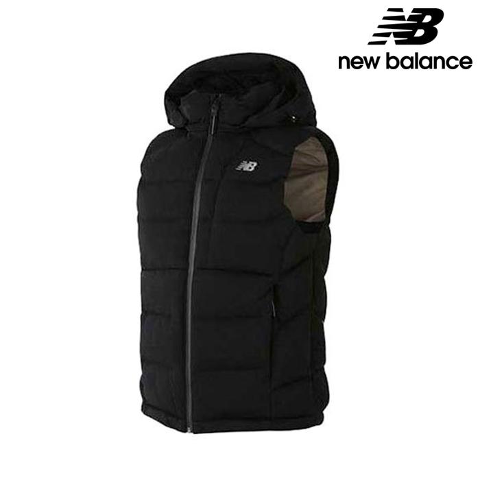 뉴발란스 NBNP7B7511-BK 남성 액티브 덕다운 패딩조끼 자켓