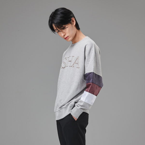 {C} (S/S) AsiHa Joseon SweatShirts Gray