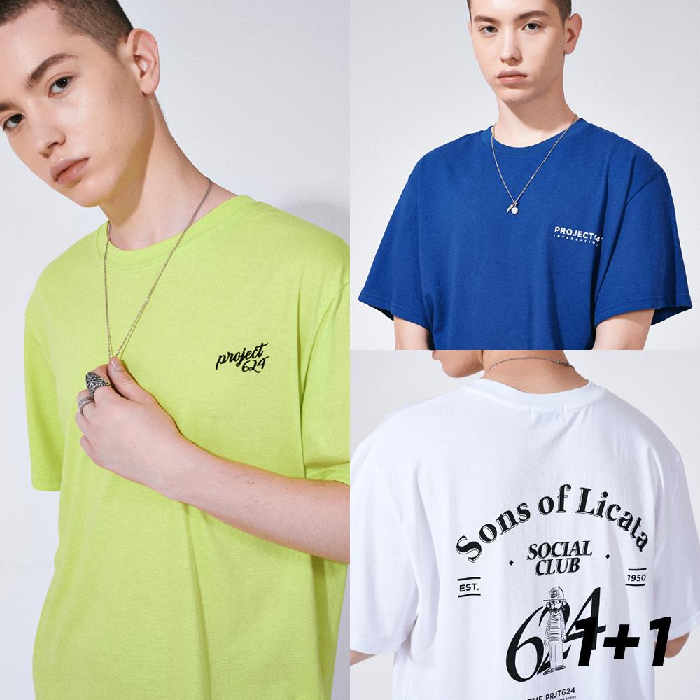 [1+1] (2SET) 19SS 티셔츠 세트묶음 10COLOR