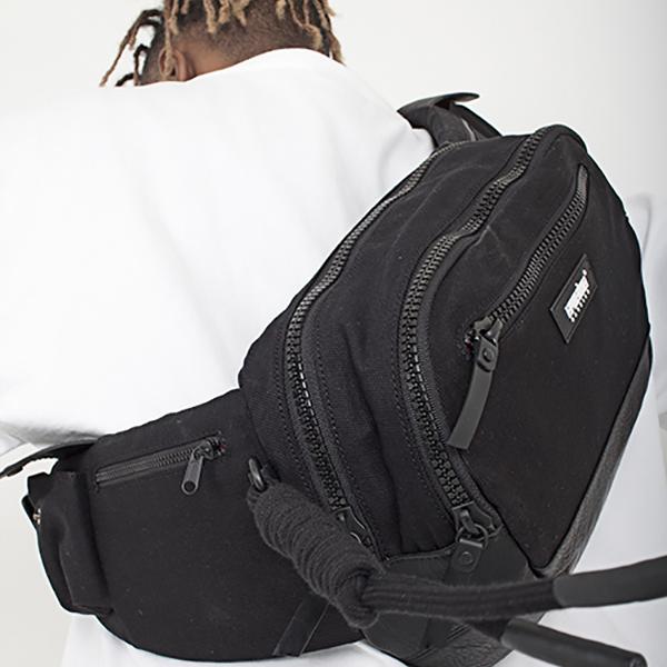 Messenger waist bag black spring/summer 2019