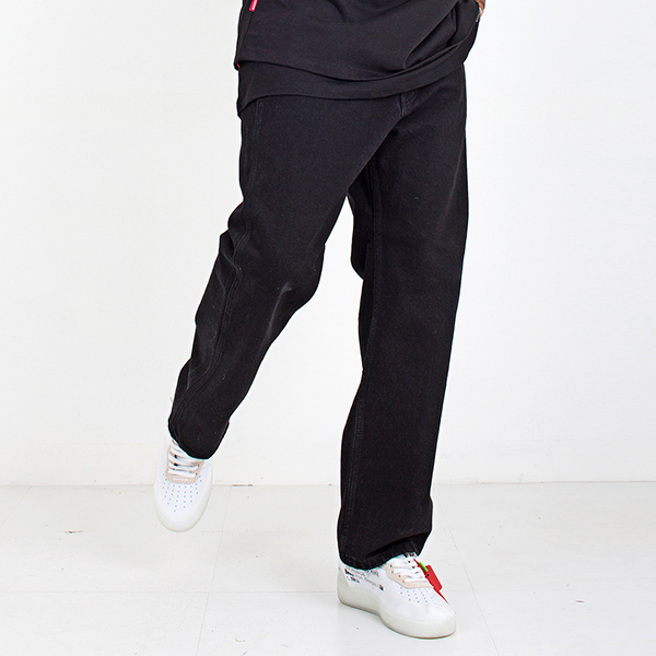 Black straight pants spring/summer 2019