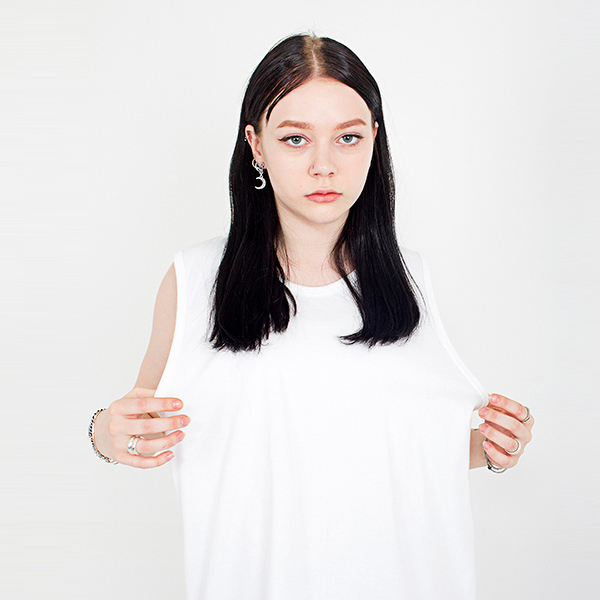 Box sleeveless shirt white spring/summer 2019