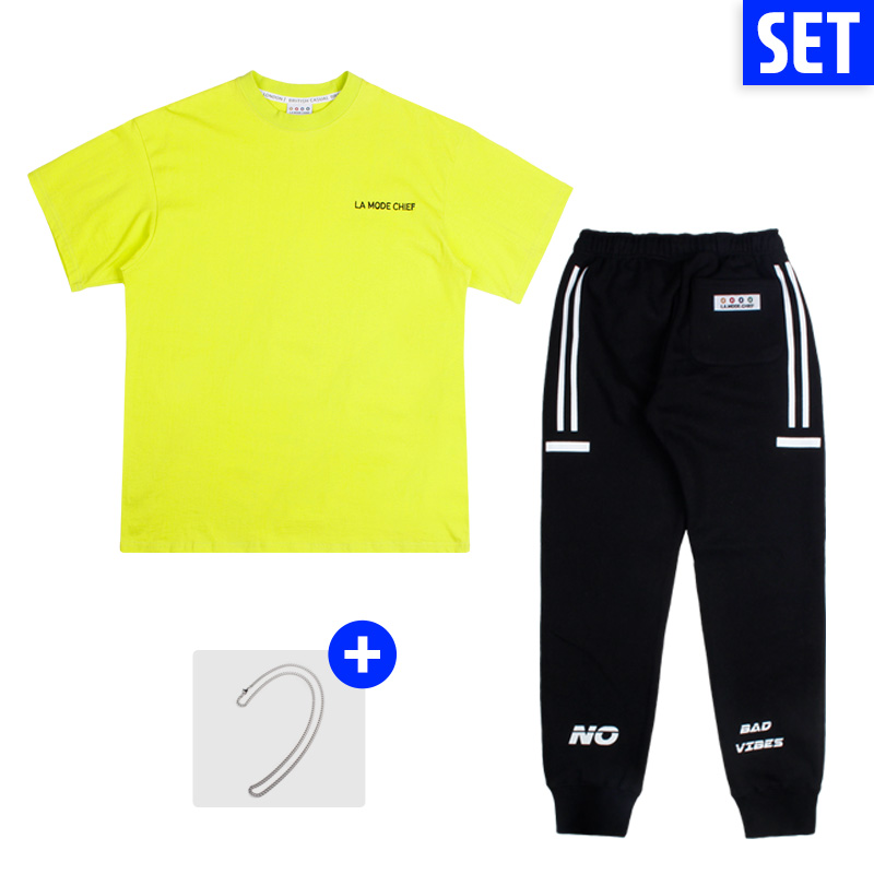 [1+1] [단독할인][+1] SHORT SLEEVE + PANTS SET No.1