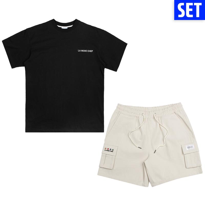 [1+1]  SHORT SLEEVE + PANTS SET No.4