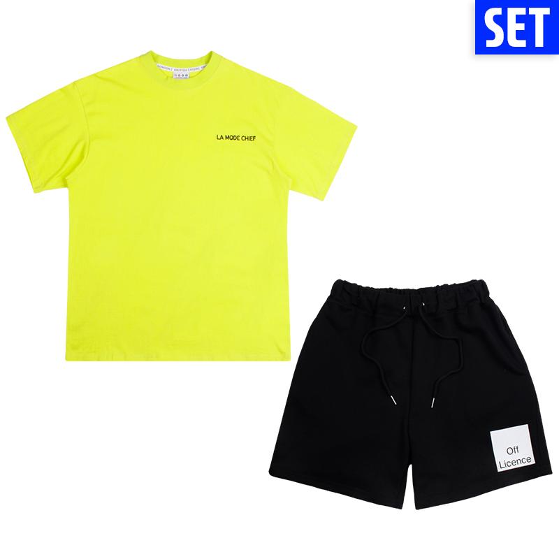 [SET] SHORT SLEEVE + PANTS SET No.5