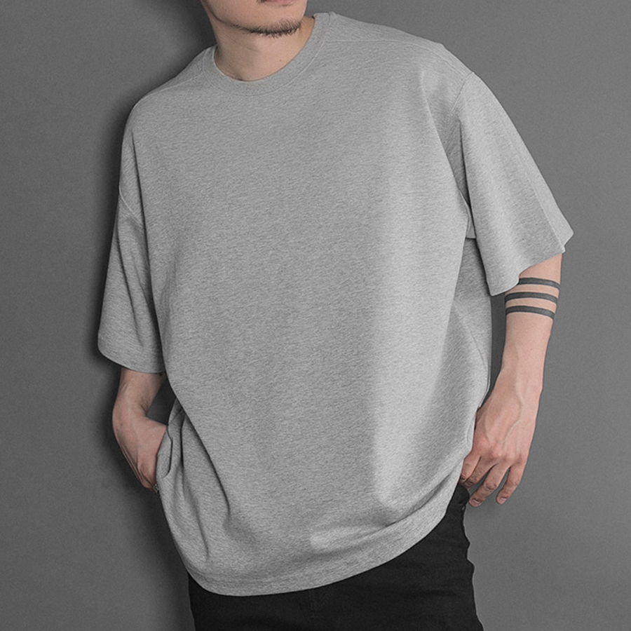 오메르타 2019 SS Over Fit Tee Grey