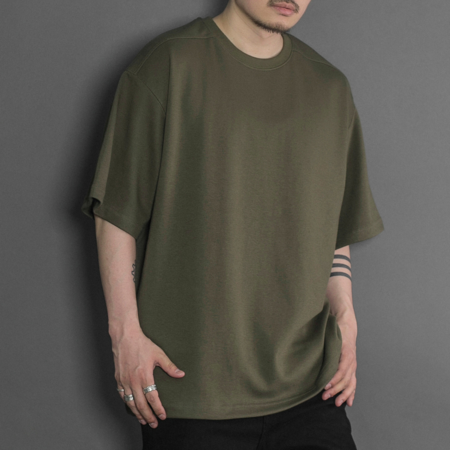 오메르타 2019 SS Over Fit Tee Military Green