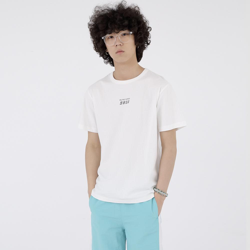 스탠시 3708-미니 레터링(화이트)_티셔츠