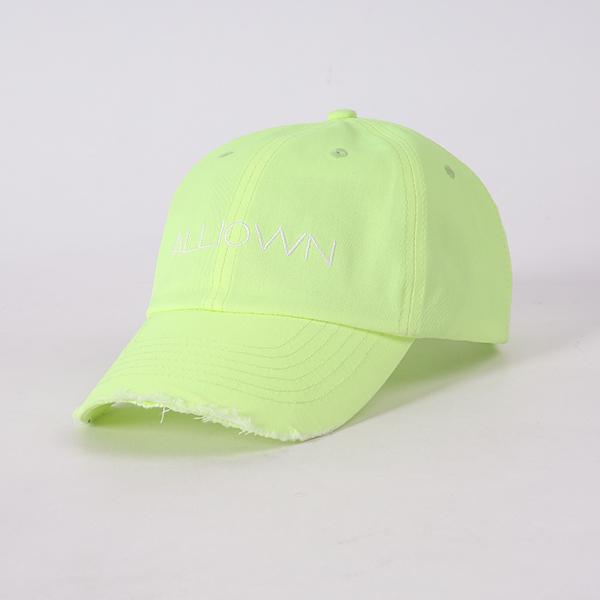 올라온 - Damage Ballcap - Neon