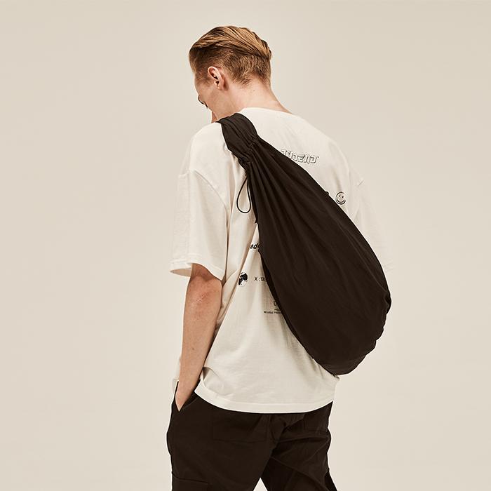 [데드엔드] BLACK BUNDLE STRING BAG