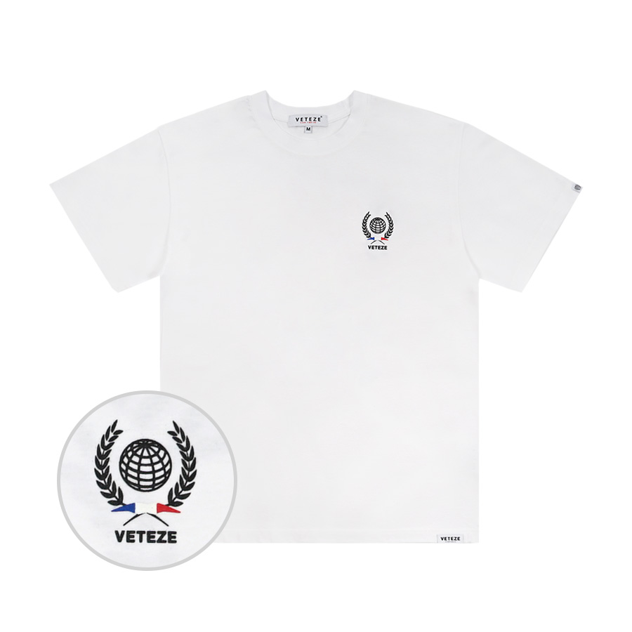 Traveler Half T-Shirt (white)