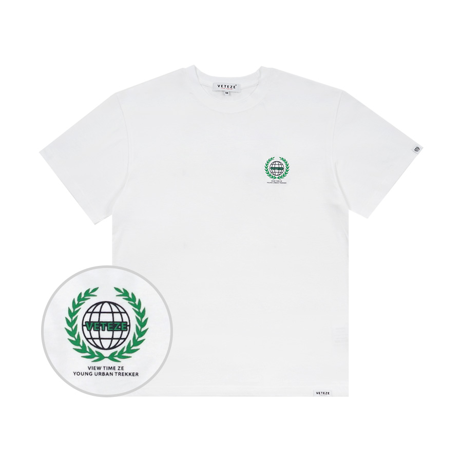 Earth Logo Campaign T-Shirt (white)