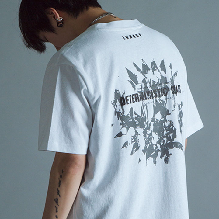 CHAOS OVERFIT TEE - WHITE